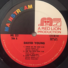 DAVID YOUNG:DAVID YOUNG(LABEL SIDE-A)