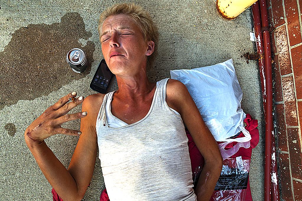 Amanda needing heroin--Camden 2