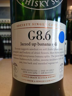 SMWS G8.6 - Jazzed up banana split