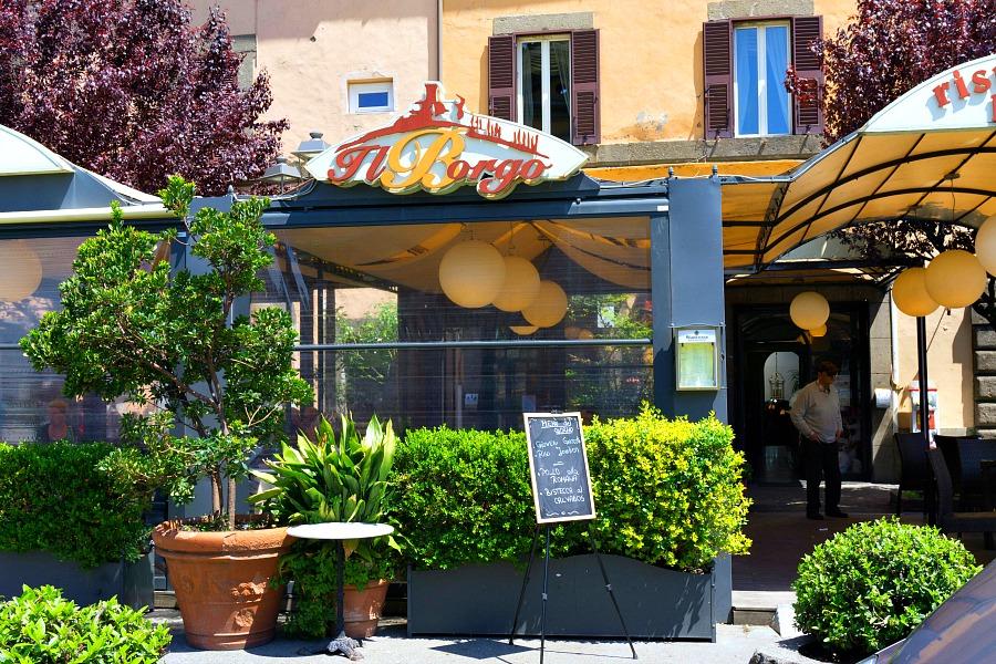 Il Borgo Restaurant Bagnaia Italy