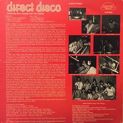 GINO DENTIE AND THE FAMILY:DIRECT DISCO(JACKET B)