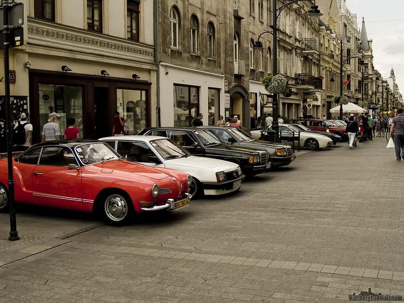 wystawa ClassicCarsŁódź z okazji 593 urodzin miasta Łodzi