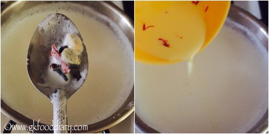 Masala Milk Recipe for Toddlers and Kids - step 4