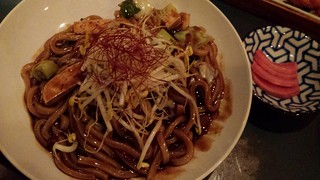 Fried Noodle and Black Bean Sauce from Yong Green