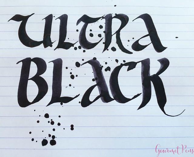 Ink Shot Review Montblanc Ultra Black @Montblanc_World @AppelboomLaren 8