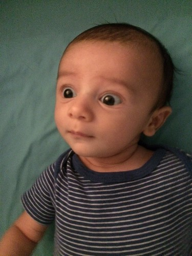 Baby Ezra, 7 weeks 5 days
