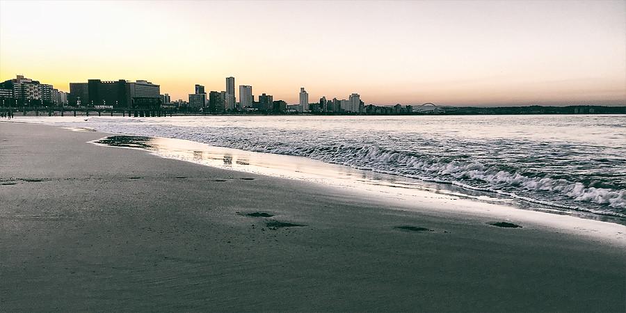 Durban coast