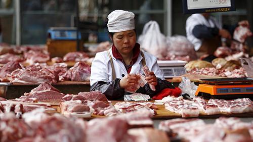 นักสิ่งแวดล้อมหนุนประเทศจีนวางแผนลดการบริโภคเนื้อสัตว์ร้อยละ 50