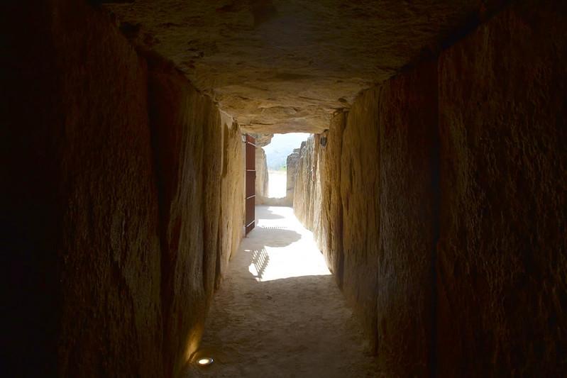 Corredor del dolmen de Viera