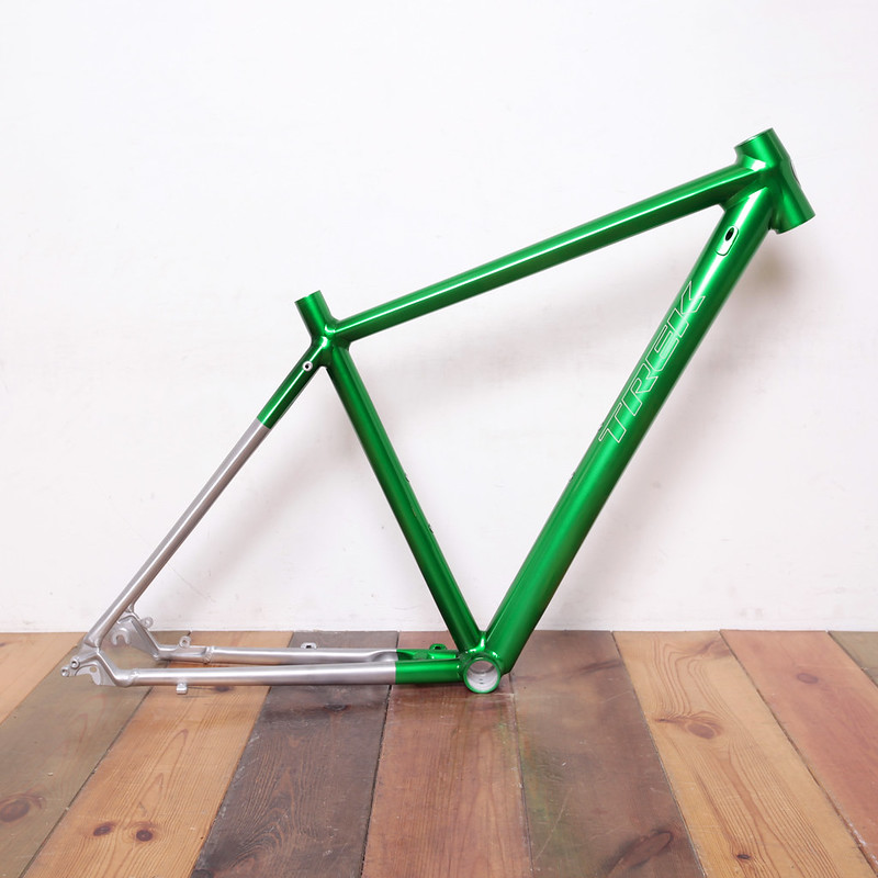 TREK Frame Repainted by Swamp Things