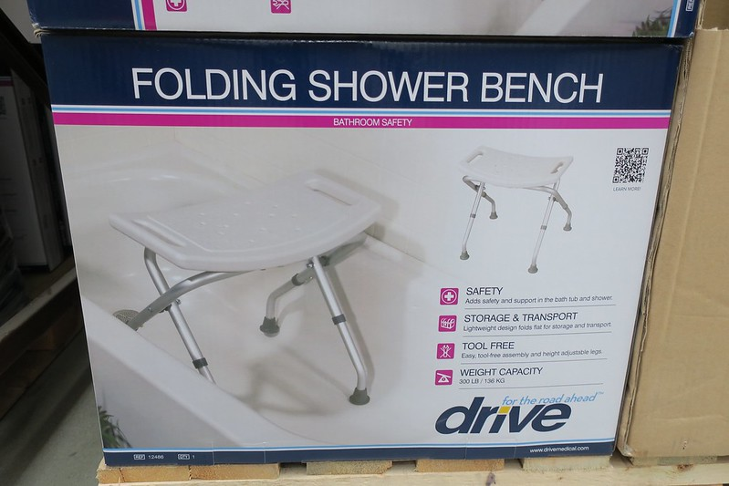 Folding shower bench Php 4000