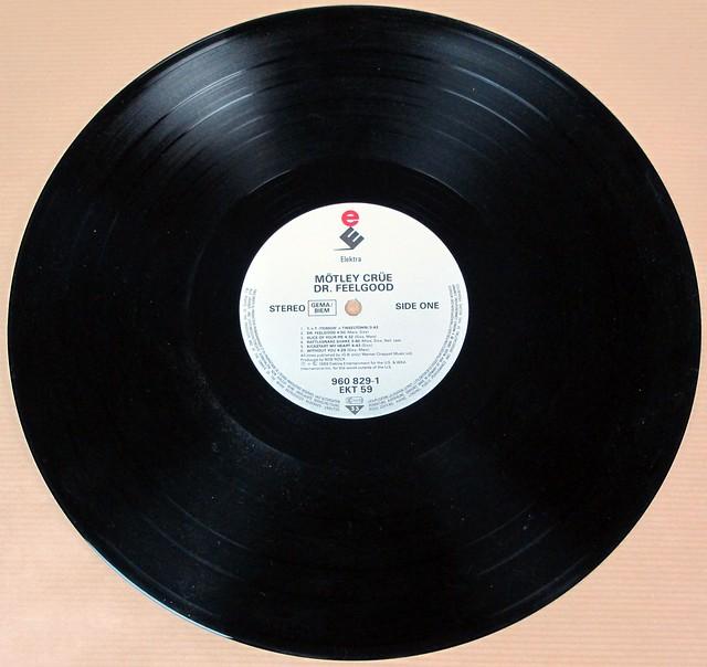 """MOTLEY CRUE DR FEELGOOD Elektra 960 829 EKT 59   12"""" VINYL LP"""