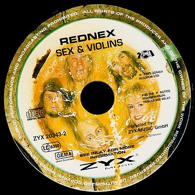 Rednex - Sex & Violins - Disk