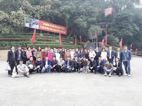 Đền Hùng đầu năm 2016
