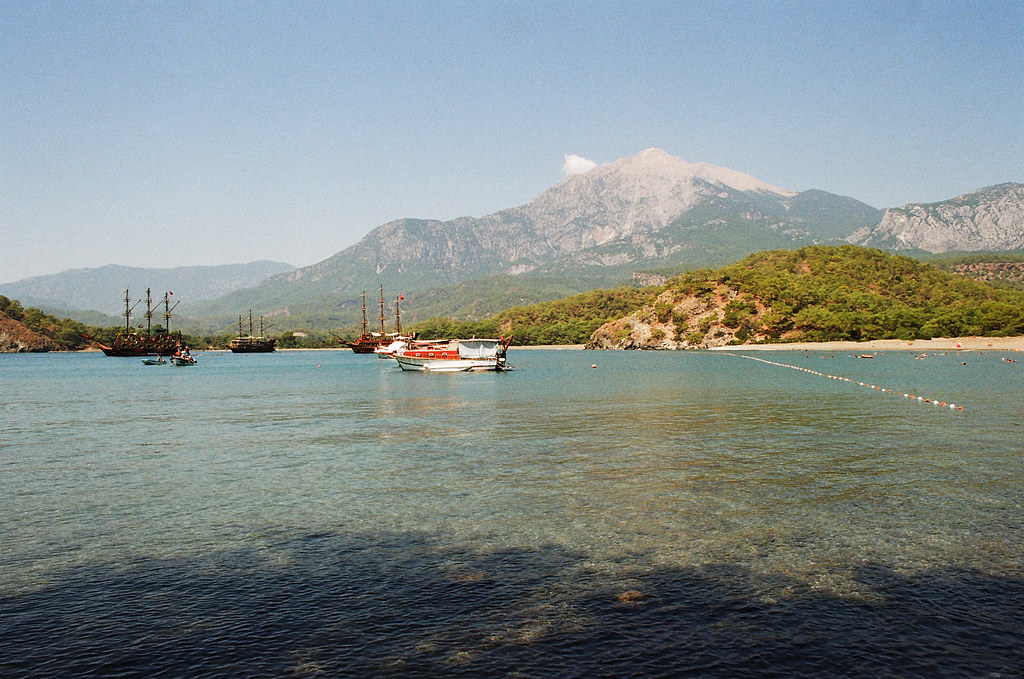 Phaselis, South harbour